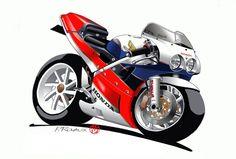 Motos Honda, Honda Vfr, Honda Bikes, Motorcycle Art, Bike Art, Motorcycle Humor, Ride Out, Speed Bike, Sportbikes