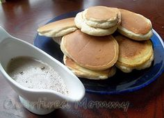 #IcedDelight Pancakes with an Iced Coffee Glaze!  So yummy!  #CBias