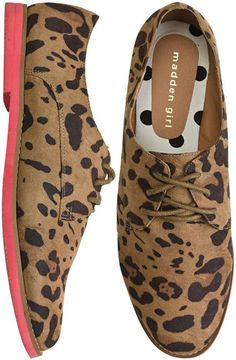Leopard Oxfords by Madden Girl #Shoes #Oxford #Madden_Girl