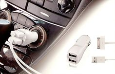 Outras Peixe Urbano - Correeeee! Carregador, Fonte e Adaptador Veicular Dual USB Universal Por 0,06