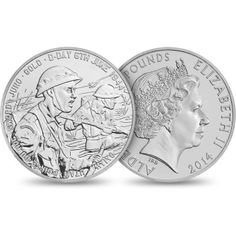 A coin I created for The Royal Mint to commemorate those who bravely fought and died on #D-Day http://www.royalmint.com/shop/70th_Anniversary_of_D_Day_2014_Alderney_5_pound_BU_Coin