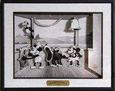 I own this.  It's very cool.  Steamboat Willie^.^