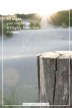 are you a sensitive person