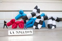 Balloon animals by the agency la bolleur