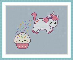 Unicorn Funny Cross Stitch Pattern | Craftsy