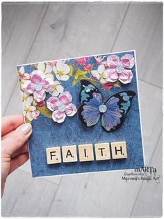 Faith Card special card for someone special by MaremiSmallArt