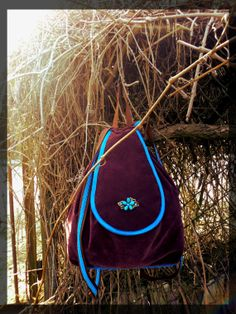 Majestic Grape Rucksack by BerryBagRucksacks on Etsy, €30.00