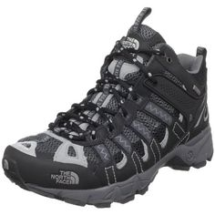 The North Face Men`s Ultra 105 GTX XCR Mid Performance Running Shoe,Black/Griffin Grey,9 M US $120.00