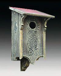 Victorian Owl Box
