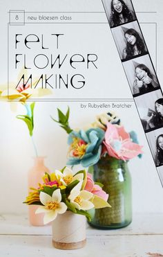 Class Alert: From Felt to Flowers with Rubyellen Bratcher Bloesem Classes are not only a great way to pick up a new skill, it's also a great chance to meet the bloggers and personalities you have been following online and...
