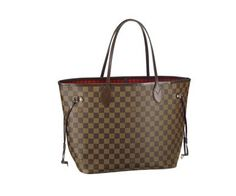 """louis vuitton neverfull damier ebene """" My ONE and only LV  """""""