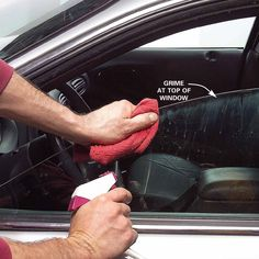 Wash the Windows, Including the Top Edges http://bestautorepairs.net/