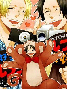 Sabo Ace Luffy Mono ASL Yaoi One Piece