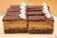 Výborné karamelové rezy, recept   Tortyodmamy.sk Czech Recipes, Ethnic Recipes, Chocolate Heaven, Cake Bars, Tiramisu, Sweet Tooth, Food And Drink, Cooking Recipes, Sweets