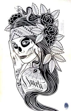 Image Detail for - Mike Giant, Muerte, 36th Chamber | Yoso Tattoo studio, traditional ...