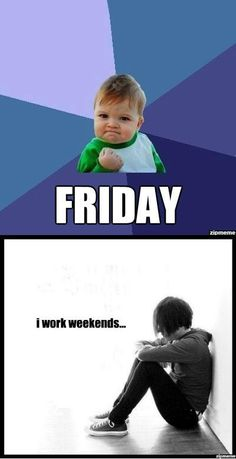 Story of my life! I work retail