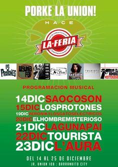 La Feria en Barranco, tiene todo, música, productos...