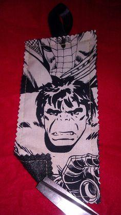 Book Marker Avengers Incredible Hulk by tjantnesh on Etsy, $4.00