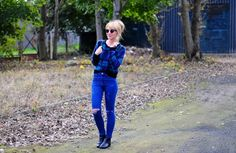 Quintessence of Beauty - Blog o modzie. Fashion blog. Blog Moda. Beauty.: Ripped jeans and tartan
