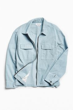 Shop UO Ryder Corduroy Zip-Up Shirt at Urban Outfitters today. We carry all the latest styles, colors and brands for you to choose from right here.