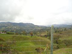 Montañas de Jericó Antioquia Colombia
