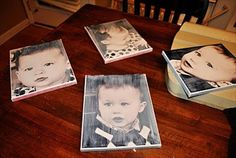 How To Make DIY Canvas Art With Photos