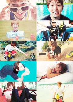 Onew- I love this guy, not because he's cool or anything, but because he's a total idiot-dork-cute thing and he remeinds me of myself (and I LOVE me. :) ).