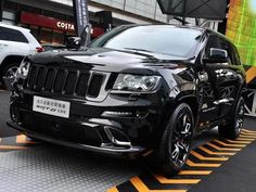 Jeep's blacked-out special edition Grand Cherokee SRT8