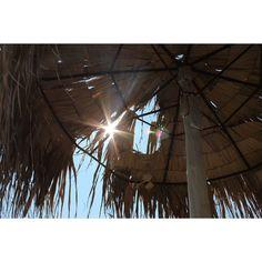 #greece #kokkinonero #2013 #goodtimes #misssummer #holidays #sun #goodweather #sea #beach #sunshade #raysofsun #bluesky #lazy  #chillout #goodvibes #instamood