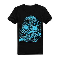 Onecos DATE·A·LIVE Logo Noctilucent T-shirt Size M(height 63in,weight 110lbs) ** Be sure to check out this awesome product.