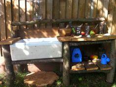 mud kitchen with butler sink - Google Search