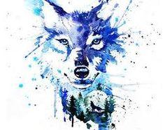 Resultado de imagem para wolf art