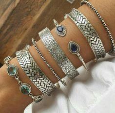 Silver. Pulseiras prata