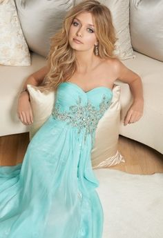 Chiffon and Lace Prom Dress from Camille La Vie and Group USA