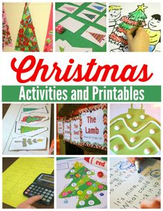 Christmas Activities and Printables