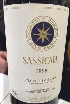 Sassicaia 1998