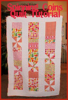 Spinning Coins Quilt Tutorial