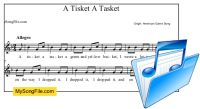 A Tisket A Tasket - Searchable Song database - Find simple songs by age, theme, etc. - Shows you a break down of solfege and rhythm