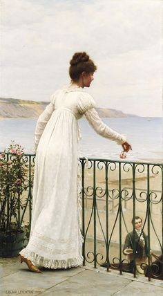 Edmund Blair Leighton, A Favour