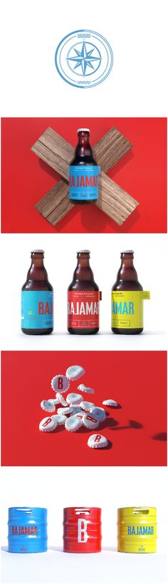 Artisanal and Craft Visual Identity and Packaging Design for Brewery in Port City of Guayaquil, Ecuador Design agency:Shift Project name:Bajamar Location: Mexico Category: #Beer #drink  World Brand & Packaging Design Society