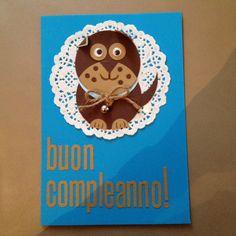 Biglietto di compleanno per il mio piccolo ometto x i suoi 9 anni!!!