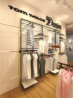 TOM TAILOR DENIM SHOP Innenarchitektur Stuttgart Studio Alexander Fehre RetailDesign