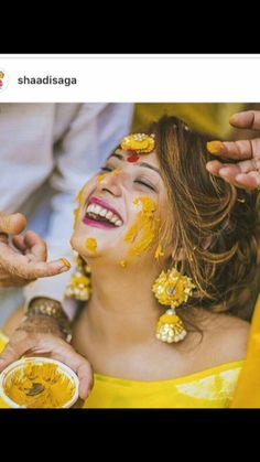 Haldi Shots are supposed to take you back to that fun-filled moment! So Get some super-cool Candid Photography shots for your Haldi Ceremony! Bridal Poses, Bridal Photoshoot, Wedding Poses, Bridal Portraits, Wedding Shoot, Wedding Bride, Telugu Wedding, Desi Wedding, Wedding Ideas