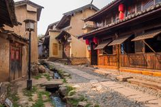 An ancient village in Yunnan