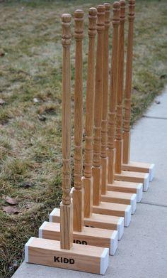 At Second Street: Handmade Gifts -part 9- a croquet set