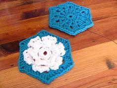 Flower Hexi baby blanket tutorial
