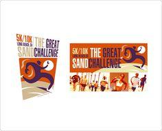 Event logo and flyer. Design: Marc Posch Design, Inc. Los Angeles