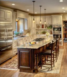 Kitchen designed by Stefanie Ciak of J.S. Brown & Co. #houseremodeling
