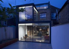 Giles Pike adds galvanised steel extension to Victorian house