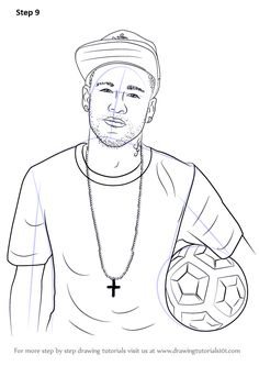 8 Ideas De Cool Dibujos De Futbol Futbol Para Colorear Dibujos De Cristiano Ronaldo